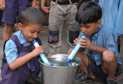 One LifeStraw = Clean Water For One Year