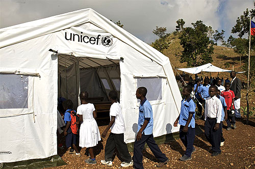 Example of a Category One School (image via UNICEF)